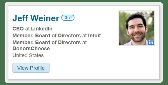 embed LinkedIn profile on website