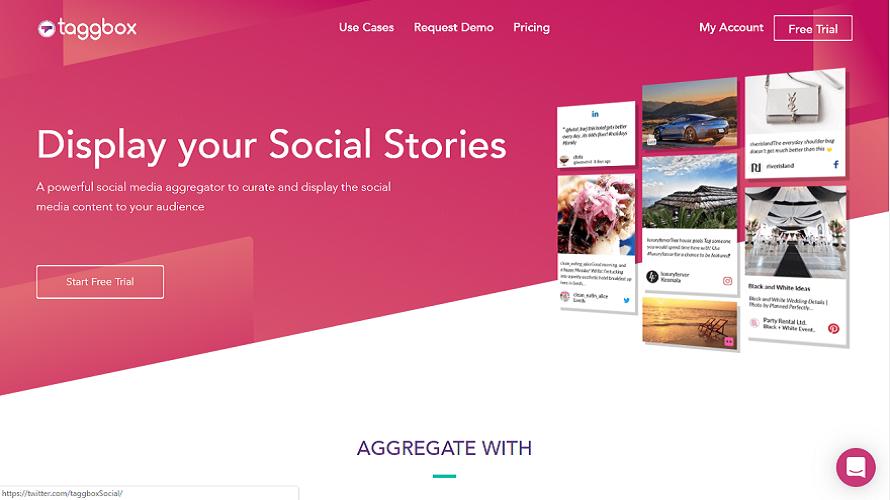 embed social media feed on website