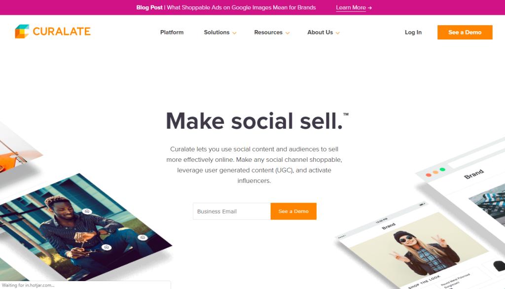 user-generated content platform